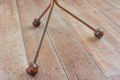 画像1: 北欧ビンテージ家具/チーク/Albert Larsson/3本脚テーブル