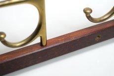 画像4: Skogslunds Metallgjuteri社製/ビンテージ真ちゅうウォールハンガー/フック/ 57cm (4)