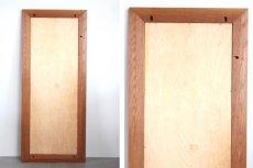 画像11: 北欧ビンテージ家具/Jens H. Quistgaard /イェンス・H・クィストゴー /NISSEN/姿鏡/タイルフレームミラー/貴重レア/新品鏡交換済み (11)