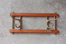 画像3: Skogslunds Metallgjuteri社製/ヴィンテージ真ちゅうウォールハンガー/フック/ 35cm/No.1 (3)