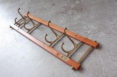 画像3: Skogslunds Metallgjuteri社製/ヴィンテージ真ちゅうウォールハンガー/フック/ 57cm/No.1 (3)