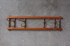 画像2: Skogslunds Metallgjuteri社製/ヴィンテージ真ちゅうウォールハンガー/フック/ 57cm/No.2 (2)