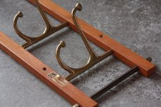 画像5: Skogslunds Metallgjuteri社製/ヴィンテージ真ちゅうウォールハンガー/フック/ 57cm/No.2 (5)