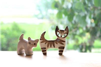 画像1: Jie gantofta /ジイガントフタ/子猫オブジェ