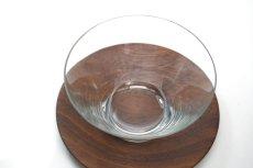 画像3: ビンテージ北欧雑貨/Kaj Franck/カイ・フランク/1369/Nuutajarvi/ヌータヤルヴィ/グラス&チークソーサー/No.1 (3)