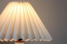 画像3: ビンテージ北欧照明/Kastrup Glas/デンマーク製/ホワイトガラス/テーブルライト (3)