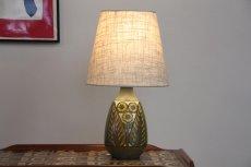 画像3: ビンテージ北欧照明/Falkenberg/テーブルライト/陶製 (3)