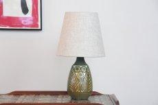 画像2: ビンテージ北欧照明/Falkenberg/テーブルライト/陶製 (2)