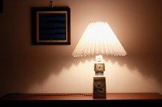 画像7: ビンテージ北欧照明/ロイヤルコペンハーゲン/Fog&Morup/ジャバラシェード/ビンテージテーブルライト (7)