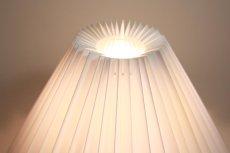 画像11: ビンテージ北欧照明/ロイヤルコペンハーゲン/Fog&Morup/ジャバラシェード/ビンテージテーブルライト (11)