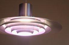 画像4: 北欧ビンテージ照明/ペンダントライト/Nordisk Solar社製/P376/デンマーク/アルミ (4)