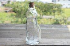 画像3: Lisa Larson リサ・ラーソン ROYAL KRONAネコ ガラスボトル (3)