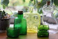 画像5: Lisa Larson リサ・ラーソン ROYAL KRONAネコ ガラスボトル (5)