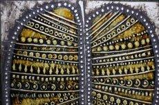 画像3: 北欧雑貨/Lisa Larson リサ・ラーソン アンティーク UNIK リーフ陶板 (3)