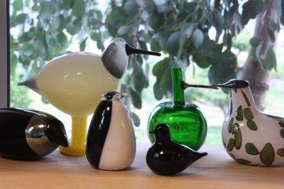 画像2: 北欧アートガラス/ビンテージガラス/Oiva Toikka/オイバ・トイッカ/iittala/イッタラ/Birds/バード/Helokki