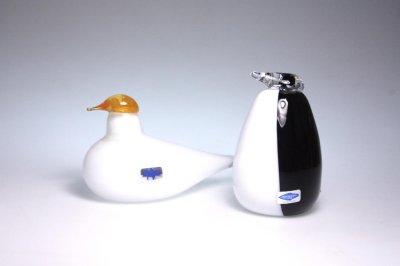 画像1: 北欧アートガラス/ビンテージガラス/Oiva Toikka/オイバ・トイッカ/iittala/イッタラ/Birds/バード/Posti/1990/Pigen