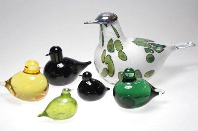 画像1: 北欧アートガラス/ビンテージガラス/Oiva Toikka/オイバ・トイッカ/iittala/イッタラ/Birds/バード/Havina SSKK