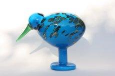 画像1: 北欧アートガラス/ビンテージガラス/Oiva Toikka/オイバ・トイッカ/iittala/イッタラ/Birds/バード/Lagoonkiwi/ラグーンキウイ (1)