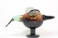 画像2: 北欧アートガラス/ビンテージガラス/Oiva Toikka/オイバ・トイッカ/イッタラ/Birds/バード/Festive catcher/2012/アニバーサリー限定 (2)