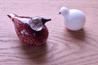 画像1: 北欧アートガラス/ビンテージガラス/Oiva Toikka/オイバ・トイッカ/iittala/イッタラ/Birds/バード/Downy Chick