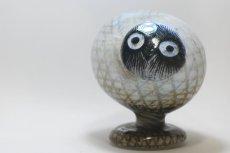 画像1: 北欧アートガラス/ビンテージガラス/Oiva Toikka/オイバ・トイッカ/iittala/イッタラ/Birds/バード/Pear Owl/ペア オウル (1)
