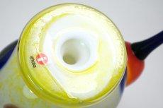 画像7: 北欧アートガラス/ビンテージガラス/Oiva Toikka/オイバトイッカ/NUUTAJARVI/iittala/イッタラ/Birds/バード/Jalokiwi/Jewelled Kiwi/ジュエルドキウイ/委託品 (7)