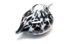 画像4: 北欧アートガラス/iittala/イッタラバード/Oiva Toikka/オイバトイッカ/Small GoldCrest/スモールゴールドクレストよりも小さな小鳥/ホワイト&斑点/No.2 (4)