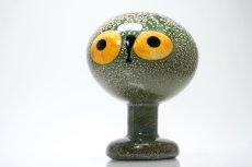 画像7: 北欧アートガラス/iittala/イッタラバード/Oiva Toikka/オイバトイッカ/Tengman's owl/テングスマンズオウル (7)