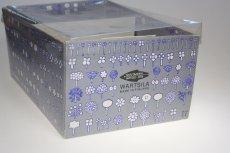 画像11: Oiva Toikka/オイバ・トイッカ/ビンテージ/フローラ/ダークブルーピッチャー&グラスセット/オリジナルBOX付き (11)