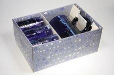 画像10: Oiva Toikka/オイバ・トイッカ/ビンテージ/フローラ/ダークブルーピッチャー&グラスセット/オリジナルBOX付き (10)