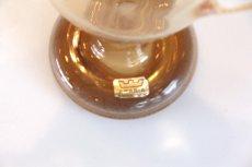 画像7: 北欧アートガラス/ビンテージガラス/Oiva Toikka/オイバ・トイッカ/Nuutajarv/ヌータヤルヴィ/Sieppo/シエッポスタンド/貴重色ハニー (7)