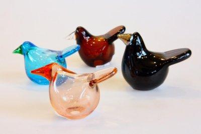 画像2: 北欧アートガラス/ビンテージガラス/Oiva Toikka/オイバ・トイッカ/Nuutajarvi/ヌータヤルヴィ/Sieppo/シエッポ/2003年ブラック