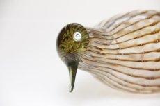 画像2: 北欧アートガラス/ビンテージガラス/Oiva Toikka/オイバ・トイッカ/iittala/イッタラ/Birds/バード/Eurasian Wryneck (2)