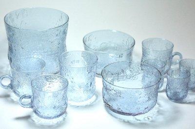 画像2: 北欧ビンテージガラス/Oiva Toikka/オイバ・トイッカ/ファウナ/NUUTAJARVI/ヌータヤルヴィ/アメジスト/ボウル/No.1