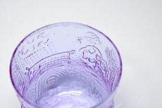 画像4: 北欧ビンテージガラス/Oiva Toikka/オイバ・トイッカ/ファウナ/NUUTAJARVI/ヌータヤルヴィ/アメジスト/Sグラス (4)