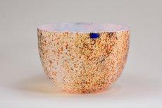 画像5: 北欧アートガラス/ビンテージガラス/Oiva Toikka/オイバ・トイッカ/Nuutajarvi/ヌータヤルヴィ/1987年/アートオブジェクト/Tunturissa bowl823/ツンツリッサ ボウル (5)