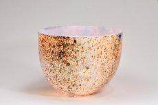 画像3: 北欧アートガラス/ビンテージガラス/Oiva Toikka/オイバ・トイッカ/Nuutajarvi/ヌータヤルヴィ/1987年/アートオブジェクト/Tunturissa bowl823/ツンツリッサ ボウル (3)