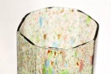 画像2: 北欧アートガラス/ビンテージガラス/Oiva Toikka/オイバ・トイッカ/Nuutajarvi/ヌータヤルヴィ/1977年/アートオブジェクト/TAHITI vase 813/タヒチベース (2)