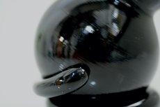 画像5: 北欧アートガラス/ビンテージガラス/Inkeri Toikka/インケリ・トイッカ/Kissa/ネコ/ブラック (5)