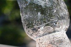 画像3: 北欧ビンテージガラス/Oiva Toikka/オイバ・トイッカ/ファウナ/NUUTAJARVI/ヌータヤルヴィ/クリア/ビアグラス (3)