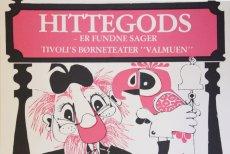 画像1: 1980年 チボリ公園 ビンテージポスター No.3 (1)
