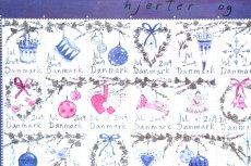画像2: 北欧デンマーク/ビンテージクリスマスシート切手/フレーム付き/2009年/デンマーク/クリスマスオーナメント (2)
