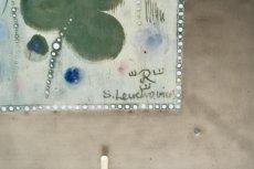 画像3: Rorstrand/ロールストランド/Sylvia Leuchovius /シルヴィア・レイショブス/陶板/ユニークピース/花柄 (3)