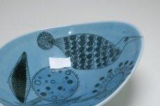 画像4: Rorstrand/ロールストランド/Sylvia Leuchovius/絵皿/ブルー小鳥&花  (4)
