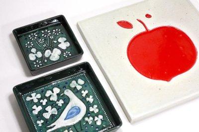 画像1: Rorstrand/ロールストランド/Sylvia Leuchovius /陶板/赤い果実