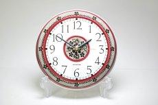 画像1: Rorstrand/ロールストランド&Westerstrand/壁掛け時計/レッド&ブラック (1)