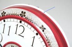 画像3: Rorstrand/ロールストランド&Westerstrand/壁掛け時計/レッド&ブラック (3)