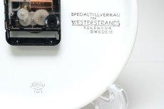 画像6: Rorstrand/ロールストランド&Westerstrand/壁掛け時計/レッド&ブラック (6)