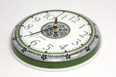 画像4: Rorstrand/ロールストランド&Westerstrand/壁掛け時計/グリーン&ブラック (4)