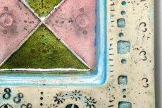 画像3: 北欧ビンテージ/北欧アート/Rut Bryk/ルート・ブリュック/Ashtray/アートオブジェクト/11cm/ホワイト&ブルー系/委託品 (3)